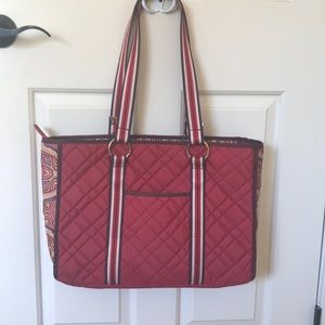 Cinda B laptop bag